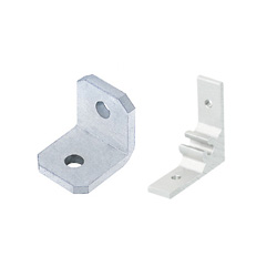 Brackets for Aluminum Extrusions 15 mm Square