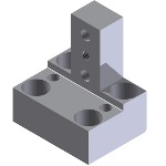 [NAAMS] L-Block T-Shape Standard and Configurable 3 Holes