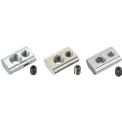 Post-Assembly Insertion Lock Nuts -For HFS6 Series Aluminum Extrusions-