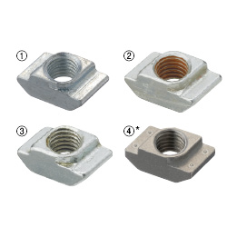 Post-Assembly Fitting Nuts -For HFS8 Series Aluminum Extrusions-