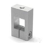 Square Pipe Joint, Square/Thread (Vertical)