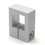Stainless Steel Square/Round Pipe Joint, Stopper