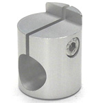 Round Pipe Joint, Same-Diameter Hole, Shelf Plate Fixed