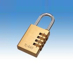 Combination Padlock (Mizumoto Machine Manufacturing)