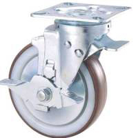 Industrial Caster, STC Series, Free Stopper (SW-4) Included