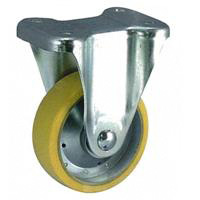 Anti-Static Caster, SKM Series, Fixed (OCTRON Urethane Wheel)