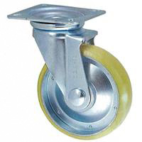 Anti-Static Caster, STM Series, Swivel (Anti-Static Urethane Wheel)