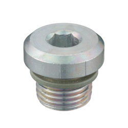 Flanged Hex Socket Head Screw Plug, SPN-H