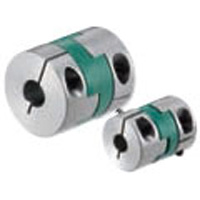 Polyacetal 8 mm Shaft Flexible Oldham Coupling Aluminum NBK MOS-32C 8mm