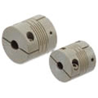 MSXP-C Clean, Vacuum, Heat-Resistant Support Coupling, Slit Type (PEEK) , Clamping Type