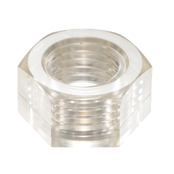 PC (Polycarbonate)/Hex Nuts Transparent