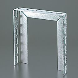 Angled-Kun/Channel-Kun,, Pipe Support Bracket, Gate Shaped (Hot Dip Galvanizing)