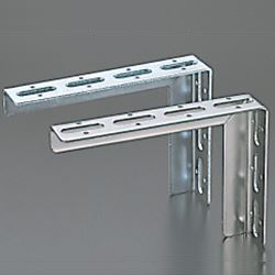 Angled-Kun/Channel-Kun, Pipe Support Bracket, L-Shaped Bracket (Stainless Steel)