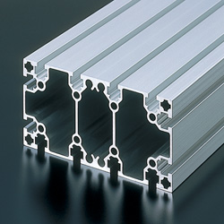 Aluminum Extrusion - M8 Series Heavyweight Class, AFS-80160 (NIC Autotec)