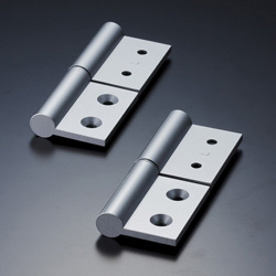 Aluminum Extrusion Hinge Fastener Set for Heavy Loads, AHB