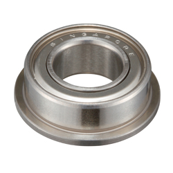 Flanged Deep Groove Ball Bearing - Stainless Steel (Minebea Mitsumi)