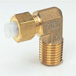 Quick Seal Series - Insert Type (Brass) - 90° Elbow (Inch Size)
