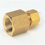 Quick Seal Series Insert Type (Brass) Female Connector (Inch Size)