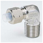 Quick Seal Series, Insertion Type (Stainless Steel Specifications) 90° Elbow (Sized in Millimeters)