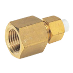 Quick Seal Series Insert Type (Brass) Female Connector (Inch Size) (Nitta)