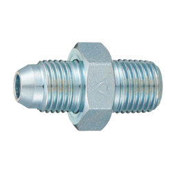 Adapter  Taper Screw Type for Pipe in Equipment Connection Site (with 30° Male Sheet) 010 Straight