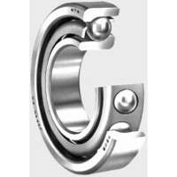 Presicion Angular Contact Ball Bearing - Steel (NTN)