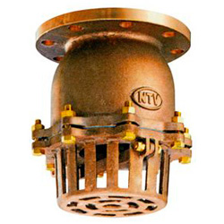 936 CAC JIS10 K F-Type Foot Valve without Lever