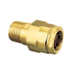 Double Lock Joints Model WJ1 Tapered Male Thread Brass (ONDASEISAKUSYO)