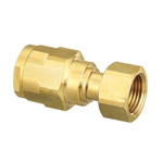 Double Lock Joints Model WJ18 Adapter with Nut Brass (ONDASEISAKUSYO)