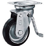 Pressed Caster JB Type, Swivel Caster with Bearings (with Brake) for Medium Loads