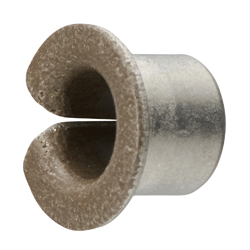 Drymet LF Bushing - PTFE Multi-layer, Shouldered, LFF Series (Oiles)