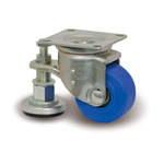 Small Caster for Heavy Loads, with Adjuster L-JW Fitting L-MCB/JW
