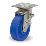 Stainless Steel Casters Free Stopper, with JSZ Metal Fittings MCB/JSZ
