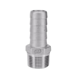 Stainless Steel - Screw-in Fitting - Hose Nipple 6HN