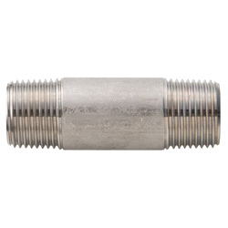 Stainless Steel Threaded Fitting Long Nipple NL