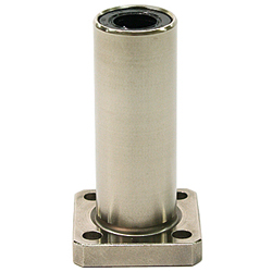 Flanged Linear Bushing, LFDKM Shape, (Eco Series), Double, K Shaped Flange