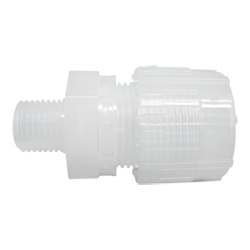Super 300 Type Pillar Fitting, Male Connector (Nippon Pillar Packing)