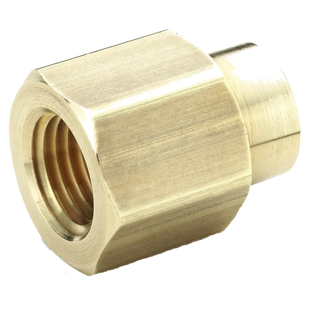 PARKER 208P BRASS REDUCER COUPLING