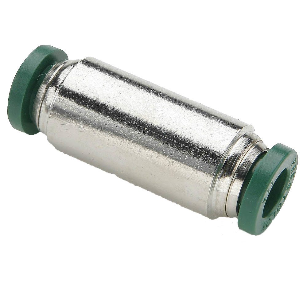 Push To Connect Nickel Plated Brass Fittings - 62PLP Series (Parker Hannifin)