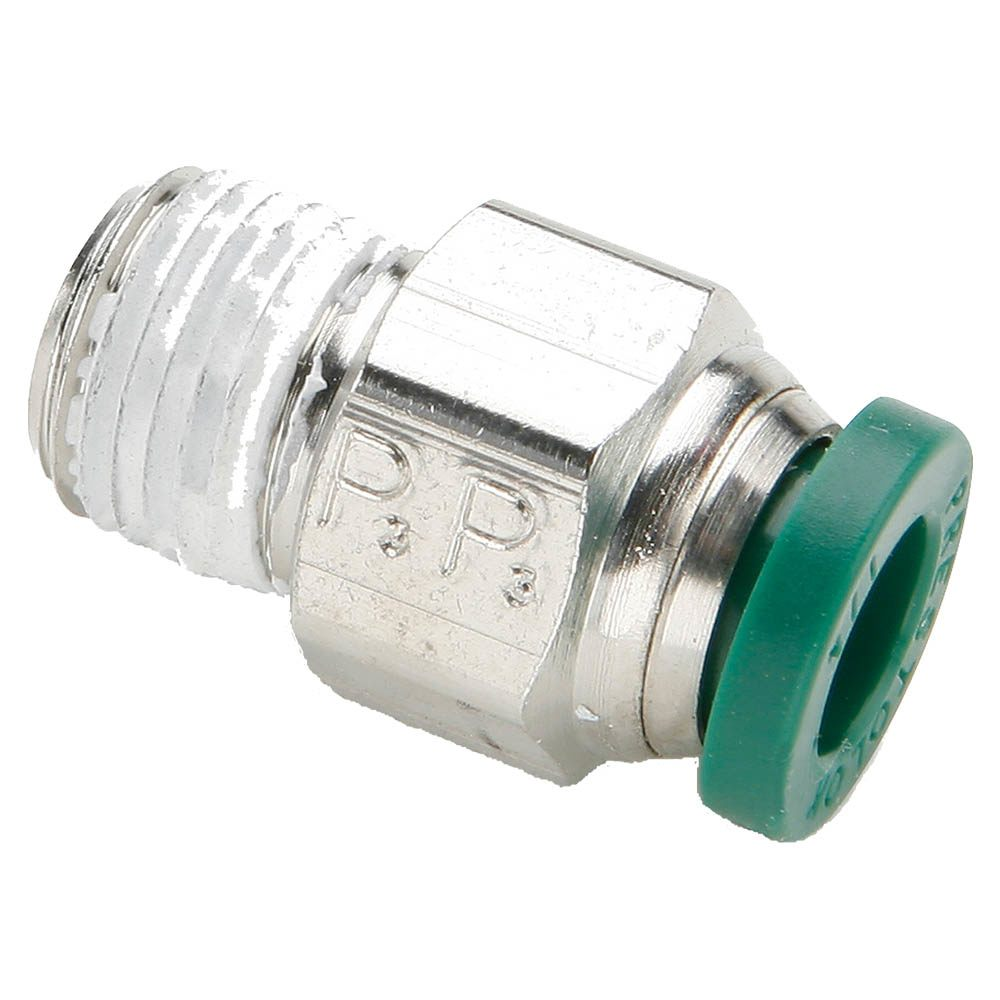 Push - Connect Nickel Plated Brass Fittings - W68PLP Series (Parker Hannifin) (PARKER HANNIFIN)