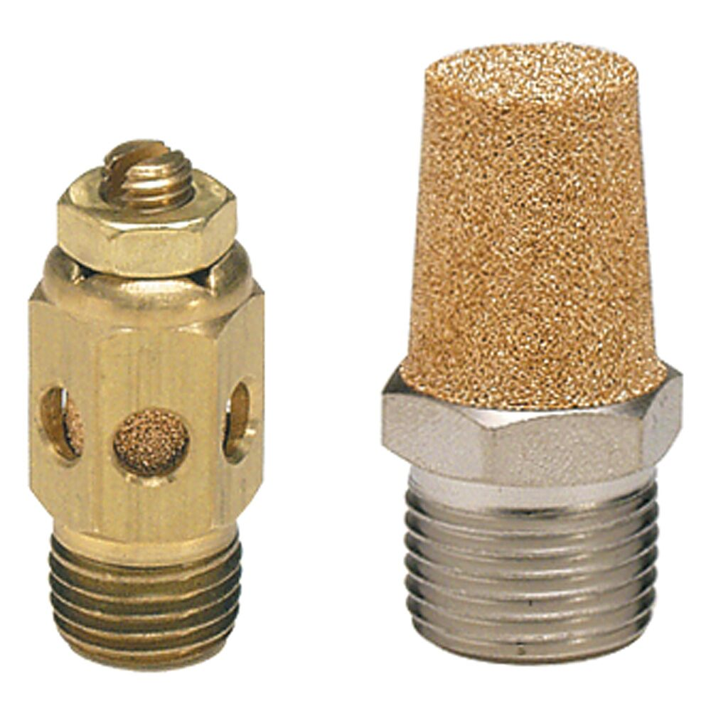 Parker - Sintered Bronze Muffler / Filters, EM Series