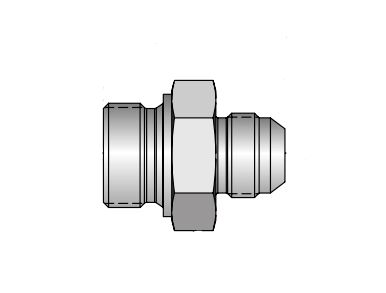 BSPP Swivel Adapter - 37 Degree Flare / 60 Degree Cone, XHK4 Series (PARKER HANNIFIN)