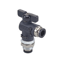 Shut-off Valve Ball Valve Bulkhead Union Elbow (Nihon Pisco)