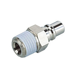 Light Coupling 15 Series Plug Straight Screw Type