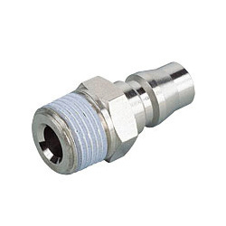 Light Coupling 20 Series Plug Straight Screw Type