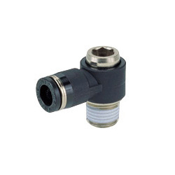 Tube Fitting Universal Elbow with Hexagonal Hole for Standard Pipe