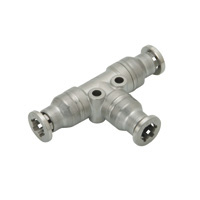 for Corrosion Resistance, SUS316 Fitting, Union Tee