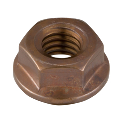 Flanged Nut, with Serrations (Sunco)