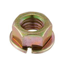 Flange Nut with Metal Spring Washer