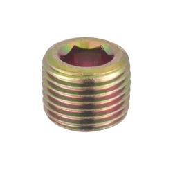 Hex Recess Tapered Threads Plug (Float)